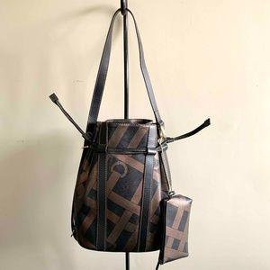 Brand New-LANCEL Paris Elsa Drawstring Bucket Bag